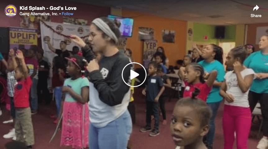 Kid Splash – God's Love