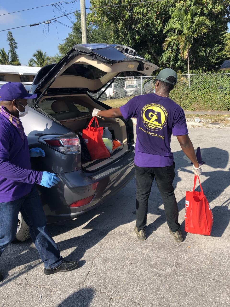 Gang Alternative Inc, partners with Feeding South Florida to Serve the Community