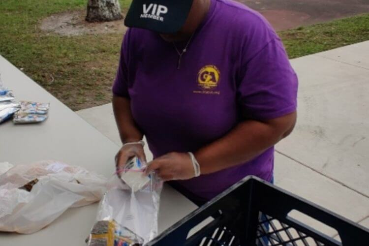 Gang alternative, inc. Hosts weekly free food giveaways with flipany